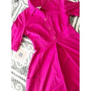 Shoshanna Button Aline Dress